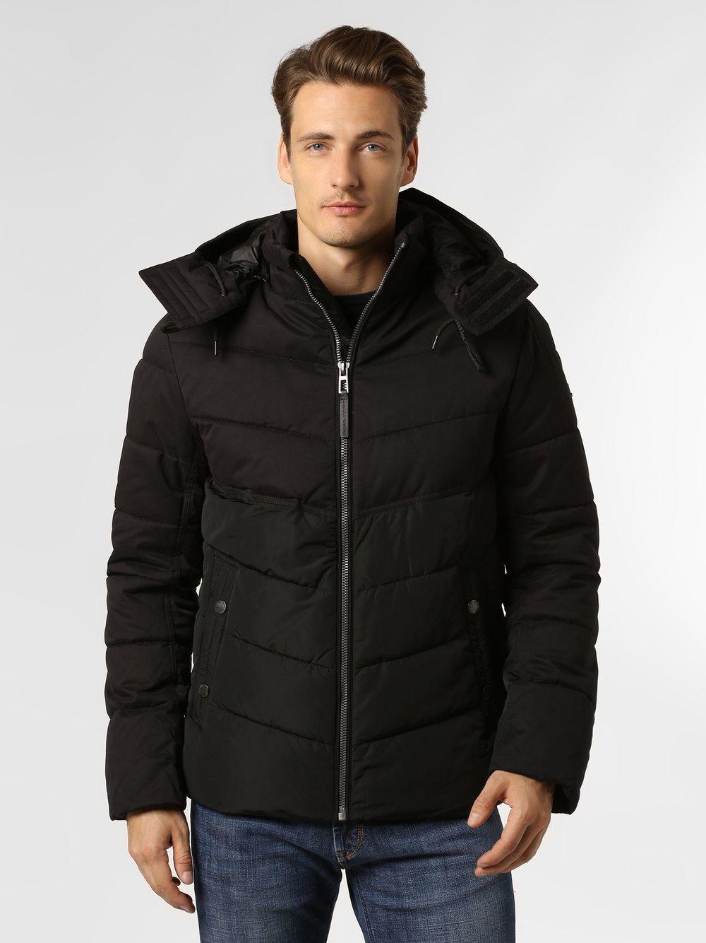 Tom Tailor – Męska kurtka funkcyjna, czarny Van Graaf 447809-0001