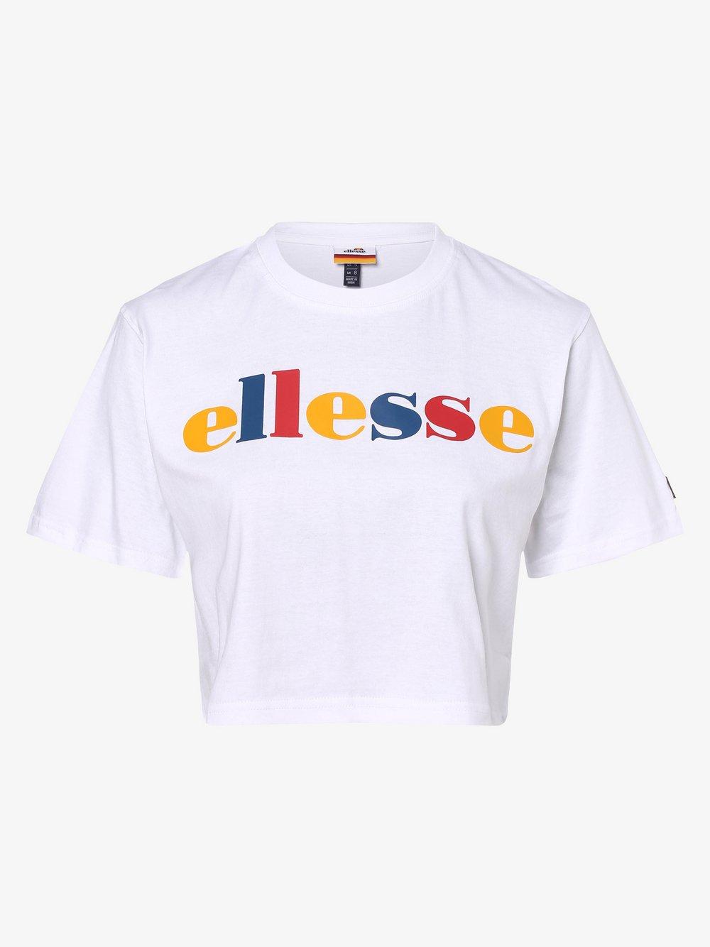ellesse - T-shirt damski – Ralia, biały