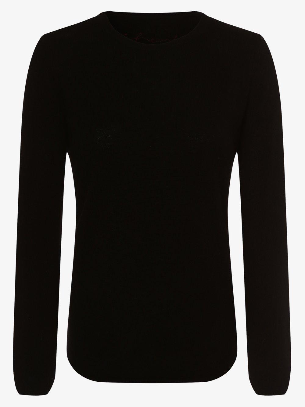 iheart – Sweter damski z czystego kaszmiru – Sophie, czarny Van Graaf 448227-0001-09960