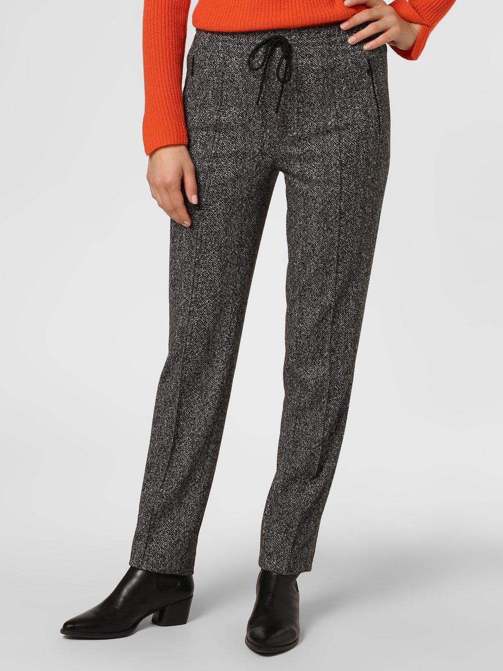 Drykorn - Spodnie damskie – Blanked, czarny