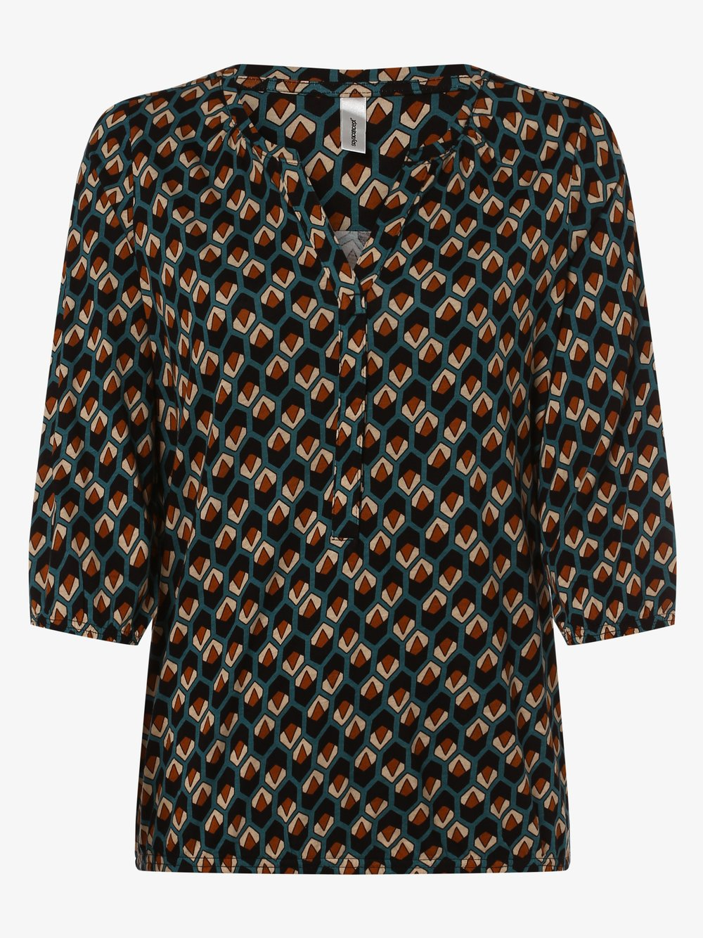 soyaconcept® – Koszulka damska – Felicity, niebieski Van Graaf 448312-0001