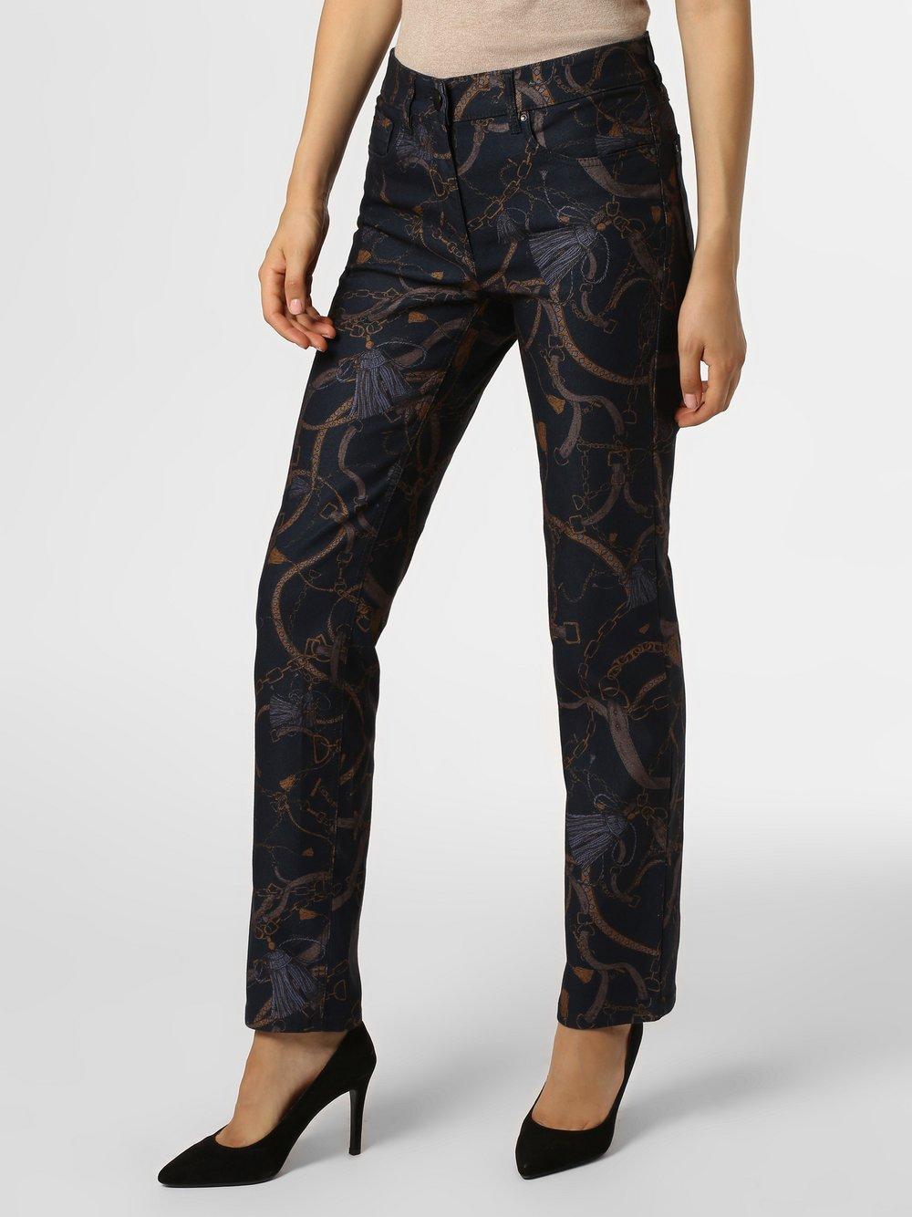 Zerres – Spodnie damskie – Cora, niebieski Van Graaf 448588-0001