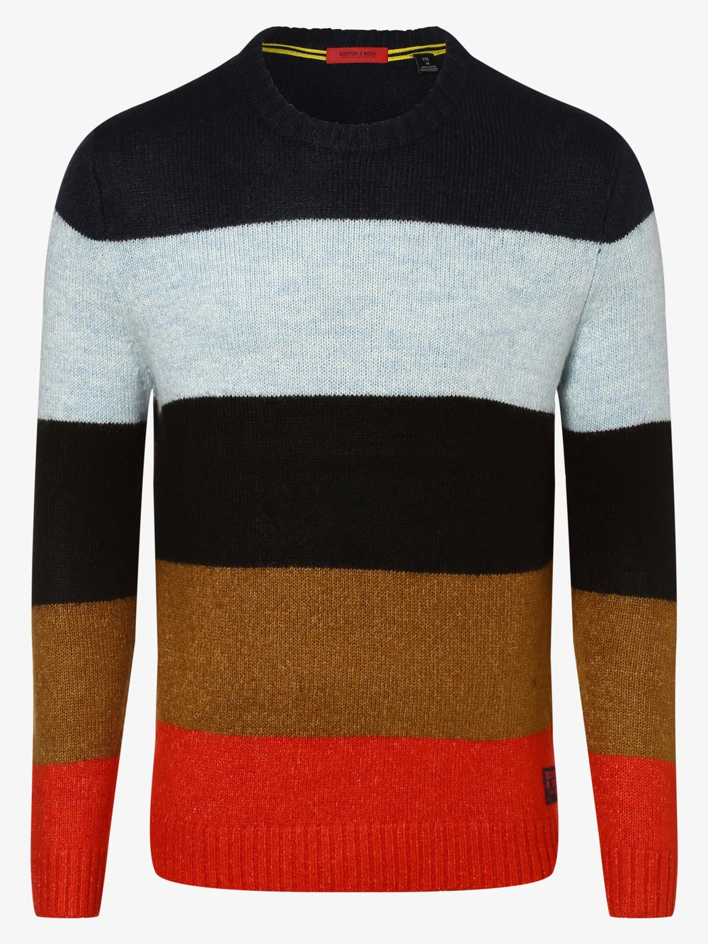 Scotch & Soda - Sweter męski, szary