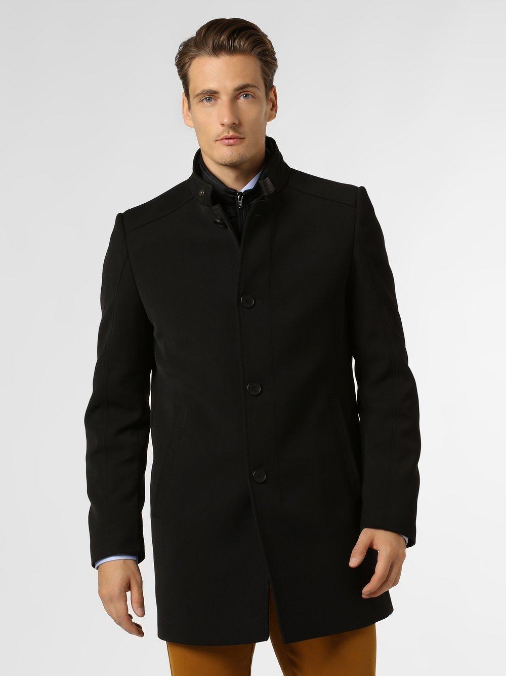Cinque - Płaszcz męski – Ciliverpool, czarny