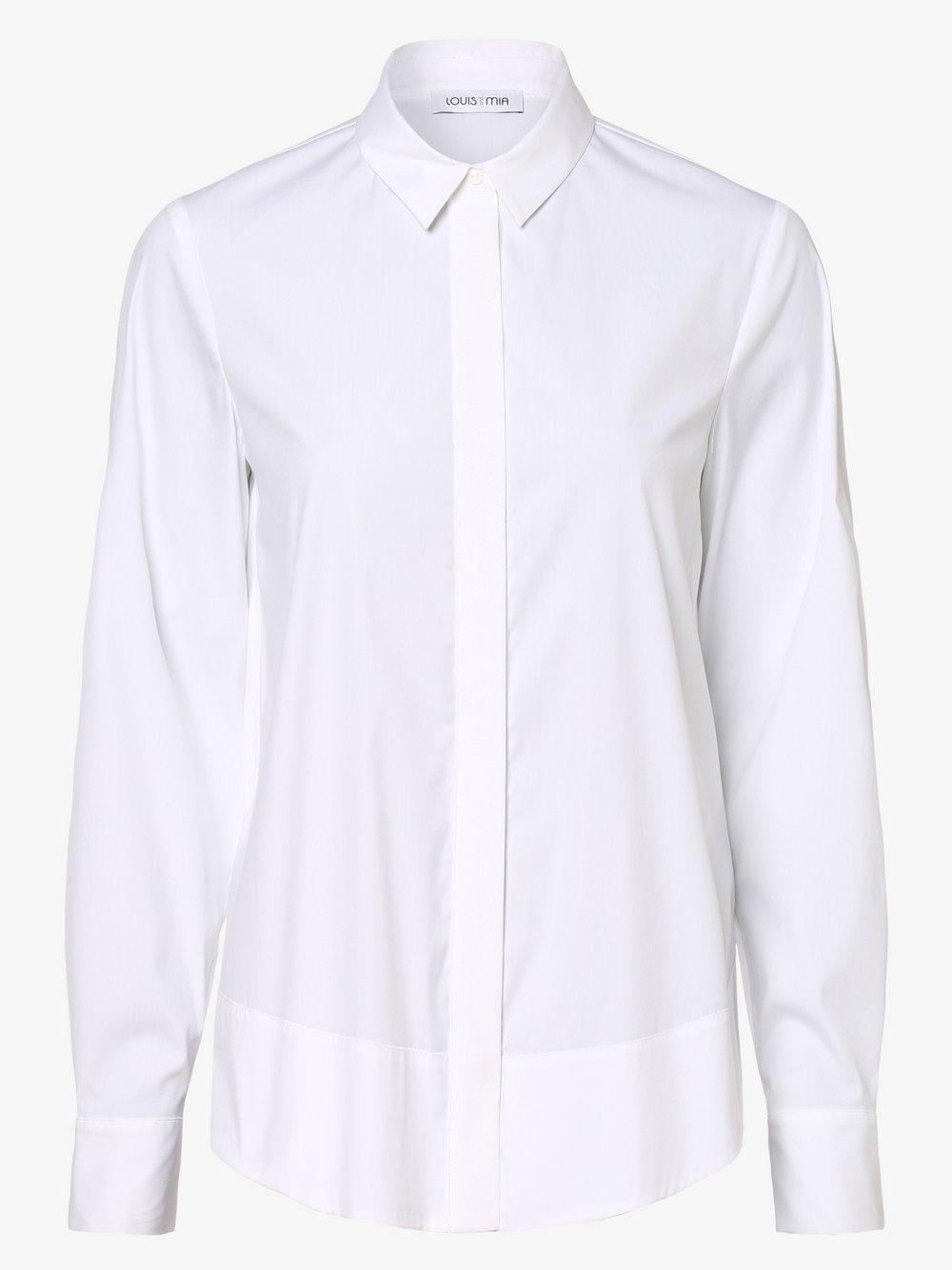 Louis & Mia – Bluzka damska, biały Van Graaf 449032-0001-00380