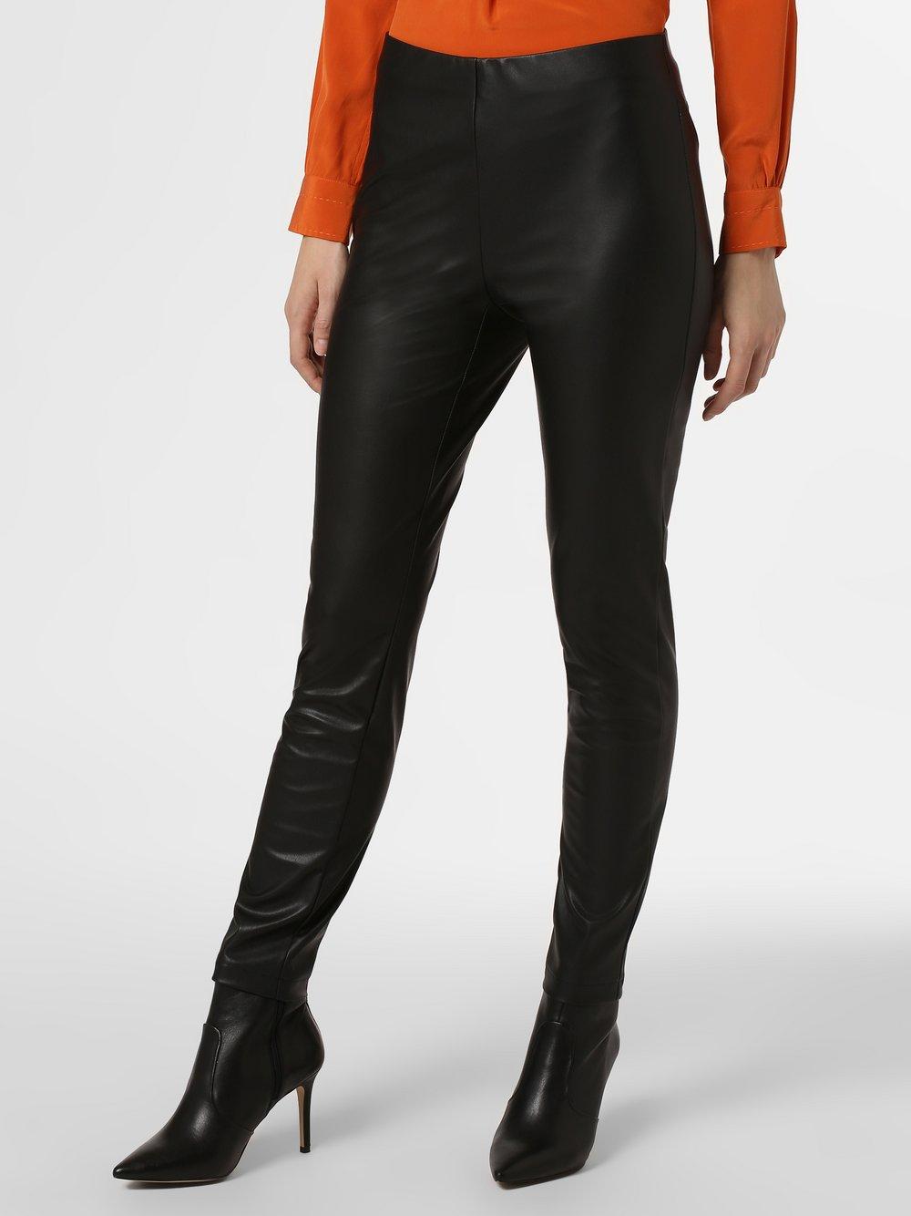 RAFFAELLO ROSSI – Spodnie damskie – Resa, czarny Van Graaf 449051-0001-00360
