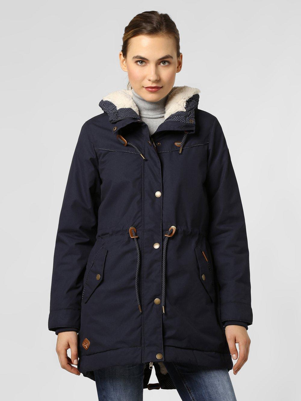 Ragwear – Kurtka damska – Canny, niebieski Van Graaf 449097-0001-09900