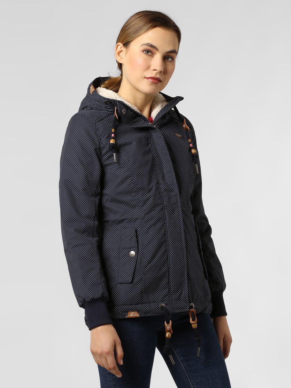 Ragwear – Kurtka damska – Danka, niebieski Van Graaf 449100-0001-09900