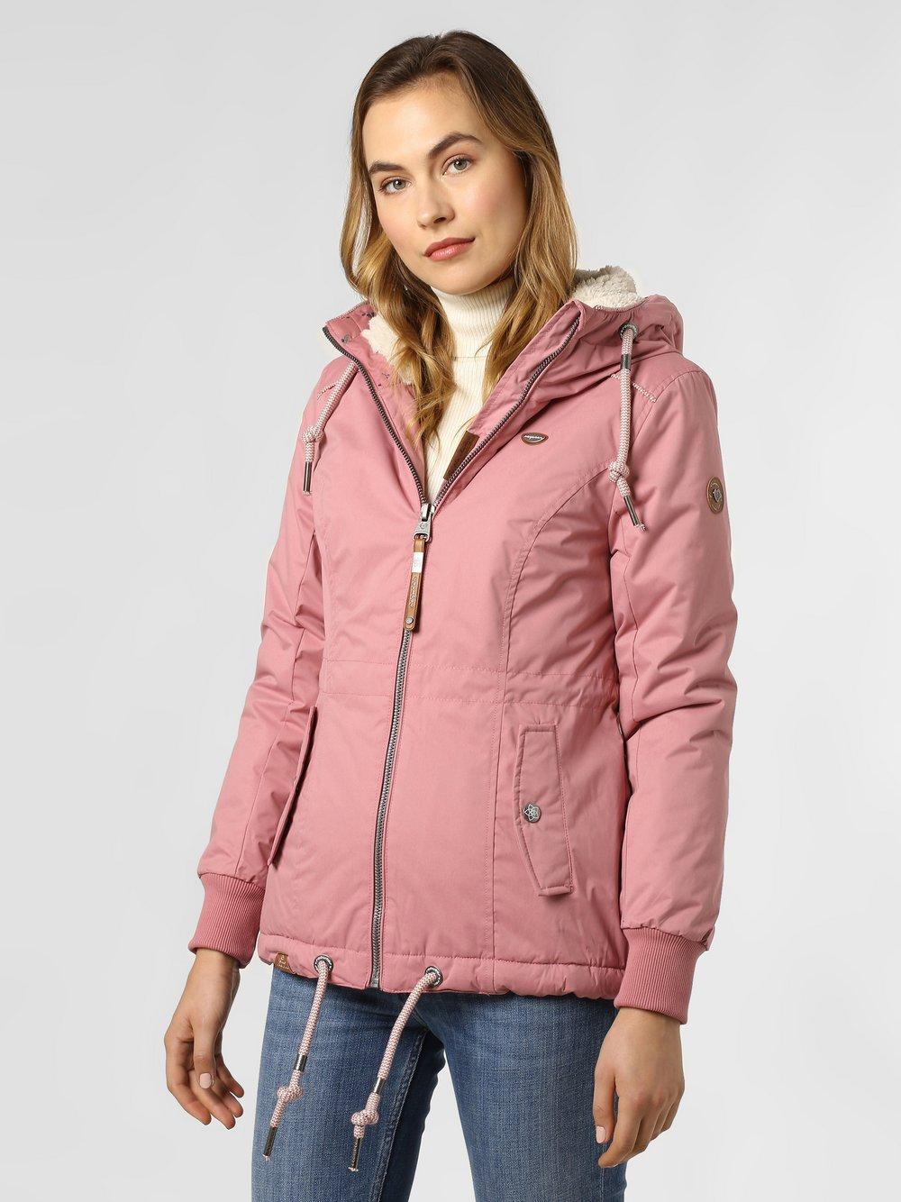 Ragwear - Damska kurtka funkcyjna – Danka, różowy