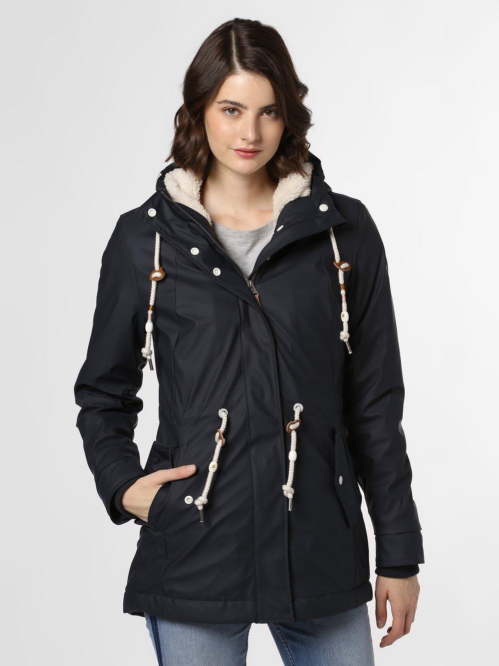 Ragwear – Kurtka damska – Monadis Rainy, niebieski Van Graaf 449112-0004-09920