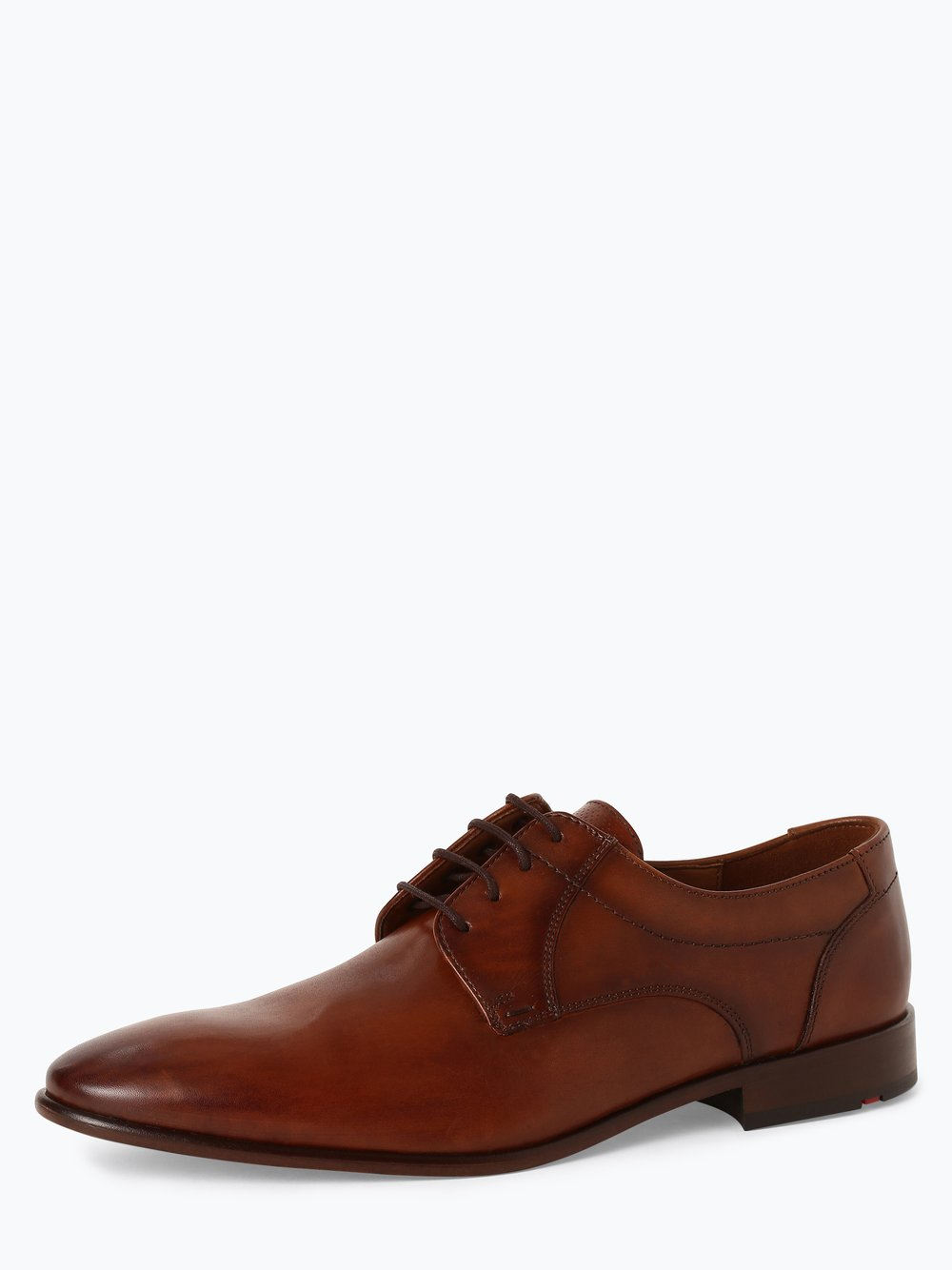 Lloyd – Męskie buty sznurowane ze skóry – Manon, beżowy Van Graaf 449121-0001-00075
