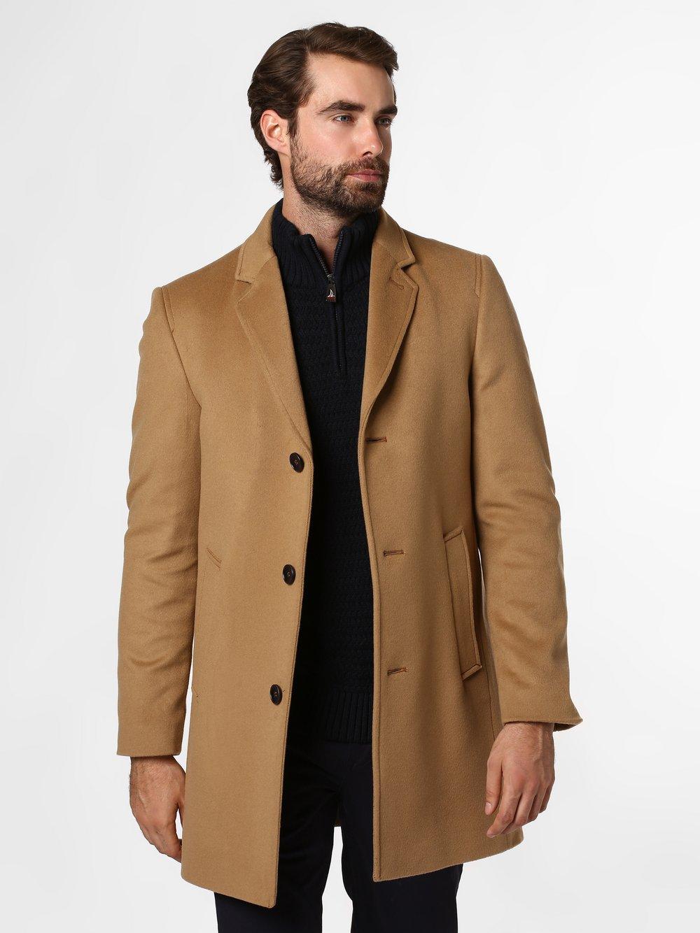 Andrew James - Płaszcz męski, beżowy