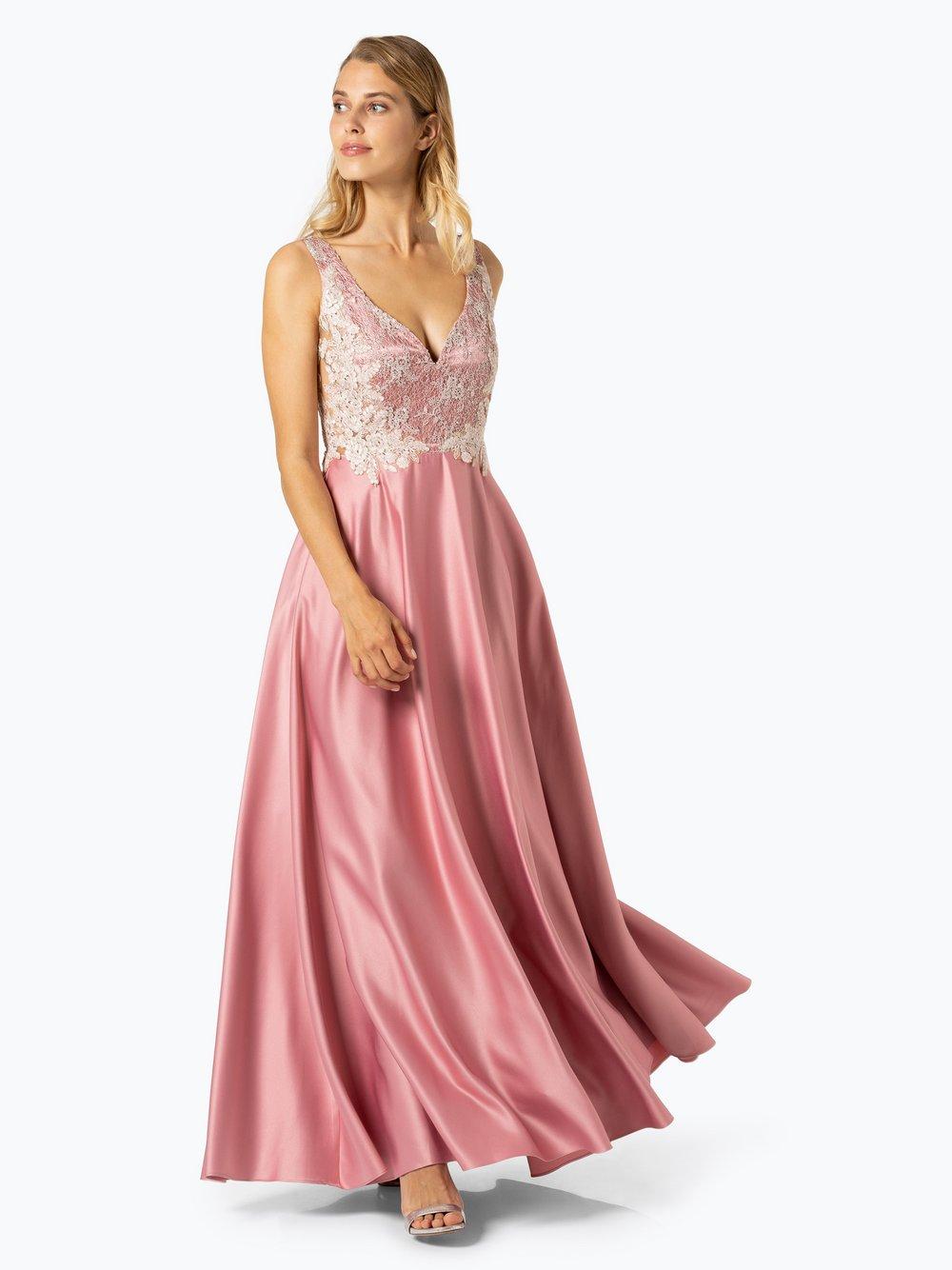 VM - Damska sukienka wieczorowa, różowy