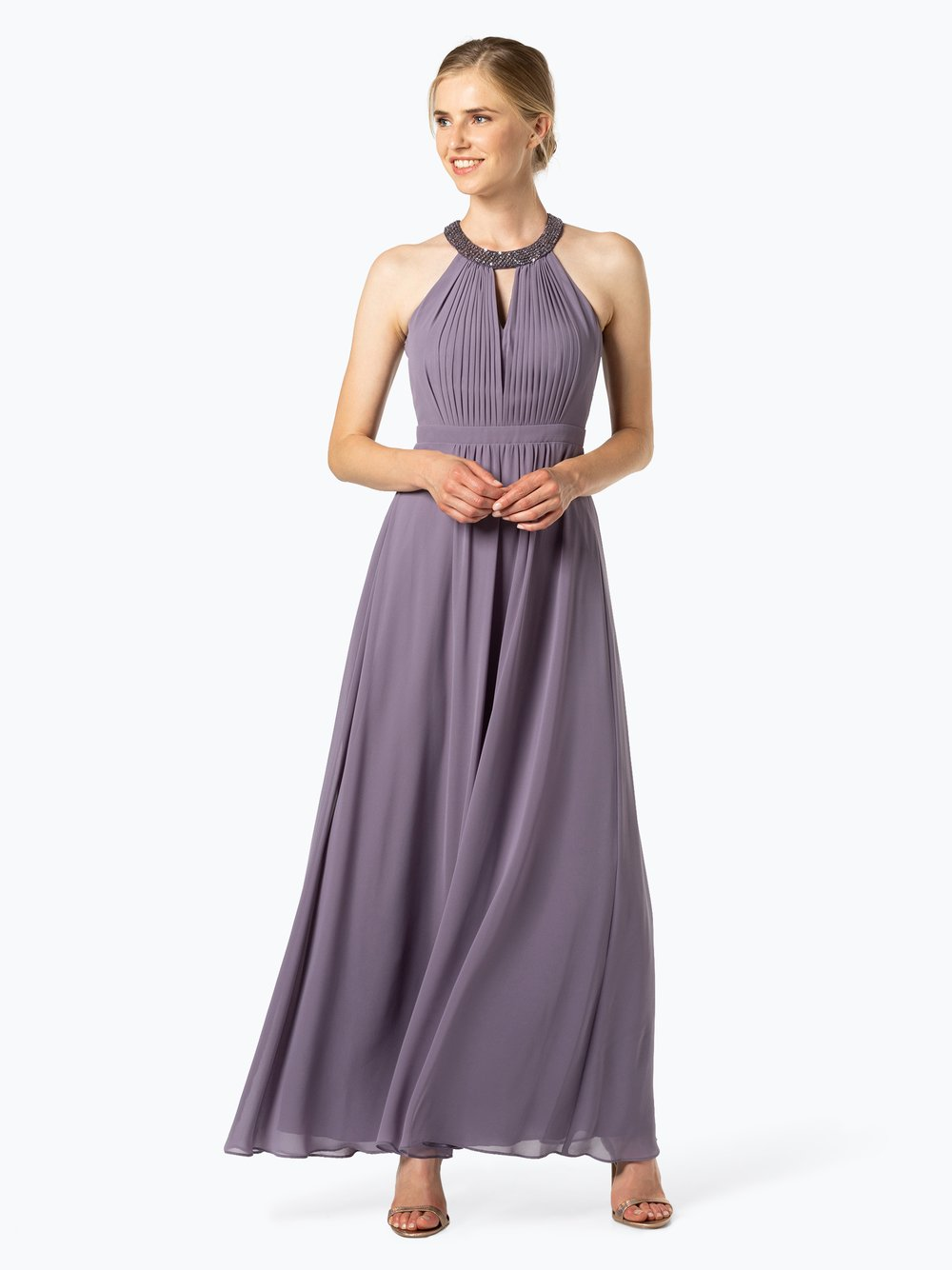 VM – Damska sukienka wieczorowa, lila Van Graaf 449215-0002-00400
