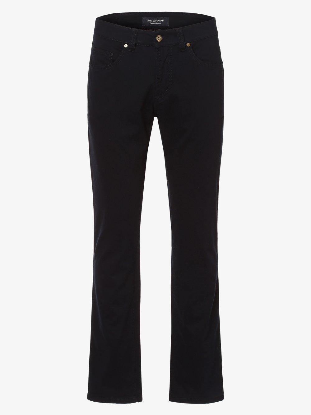 Van Graaf – Spodnie męskie, niebieski Van Graaf 449237-0001