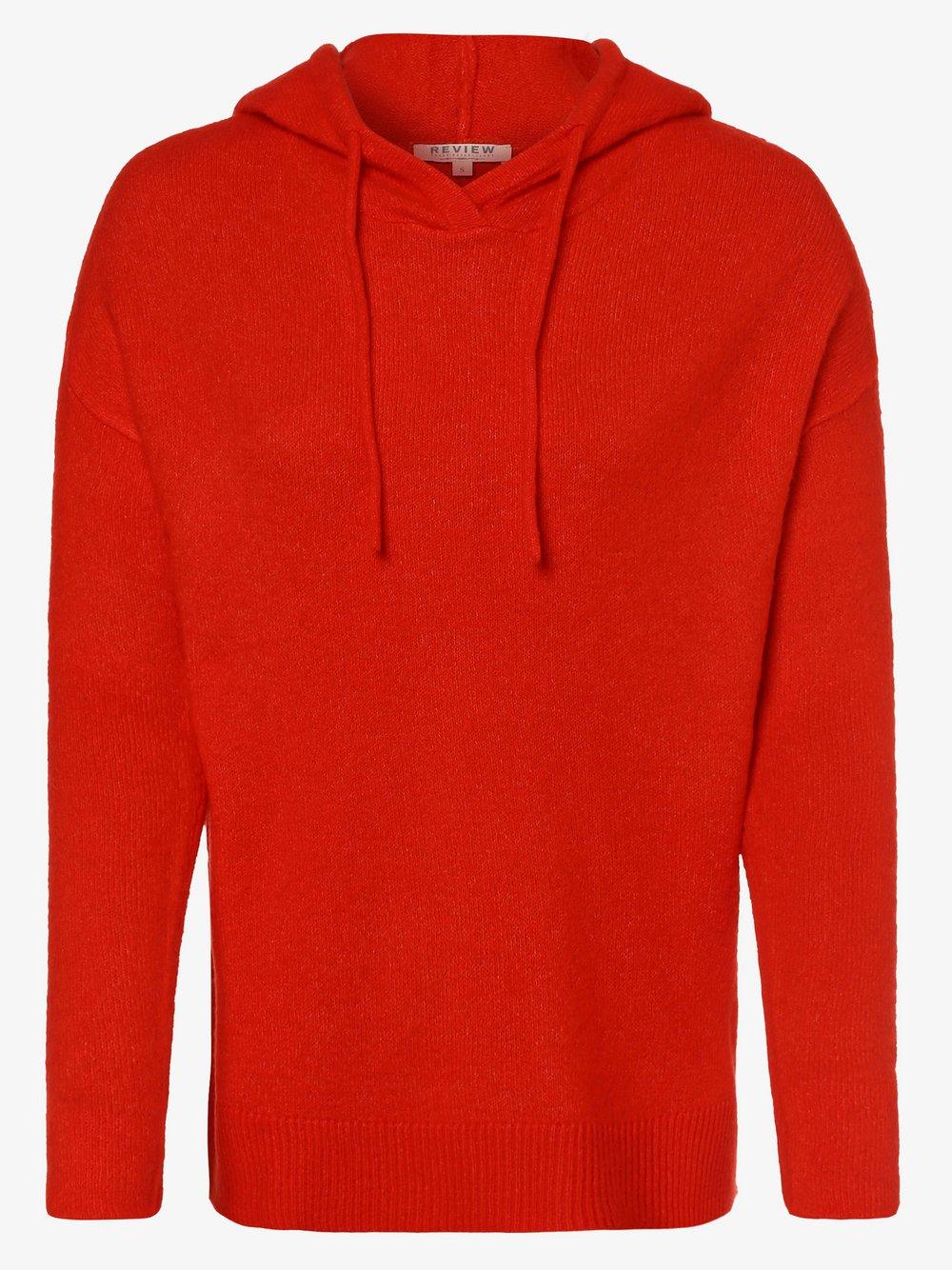 Review - Sweter damski, czerwony