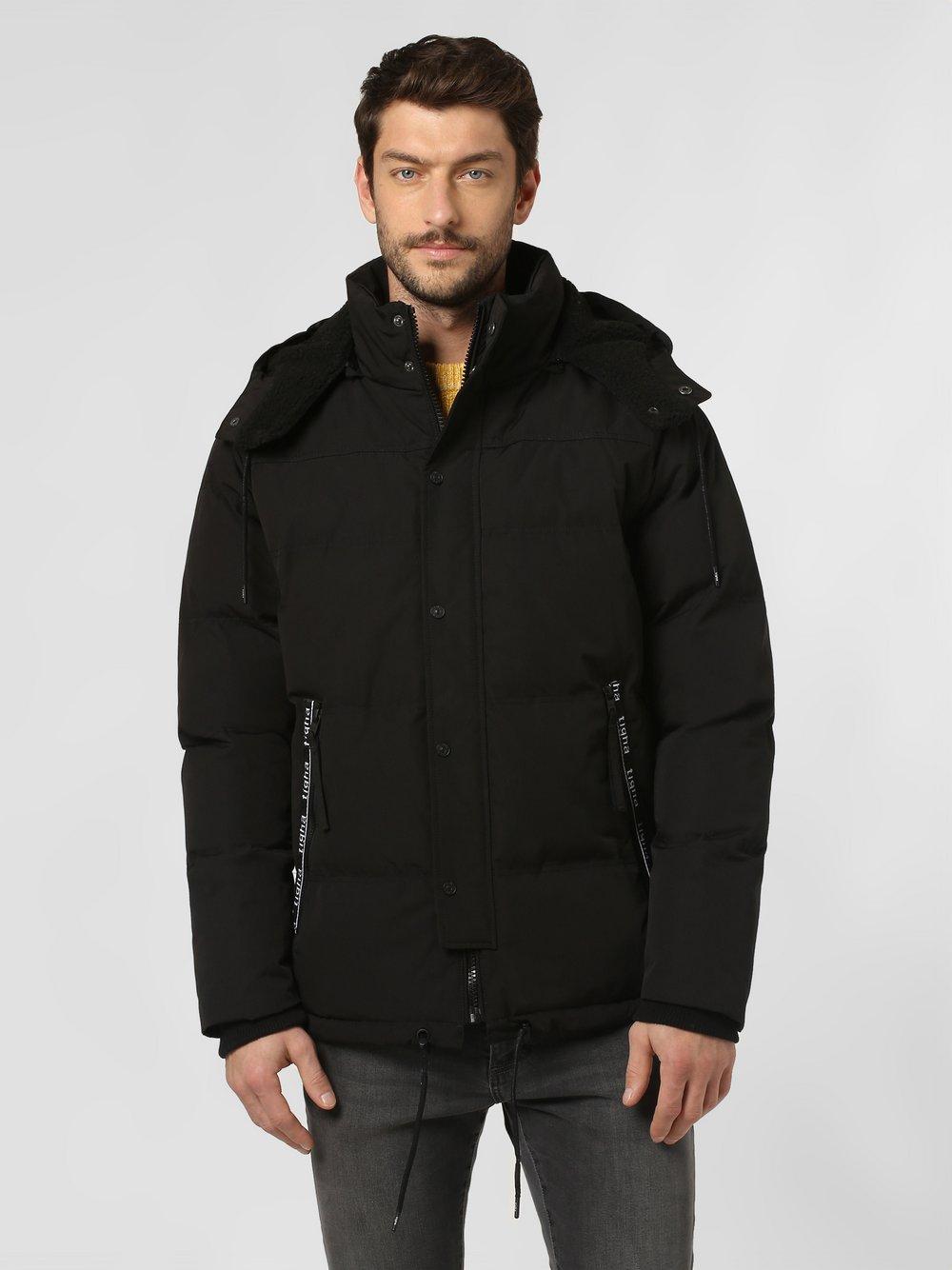 Tigha - Męska kurtka pikowana – Kobie, czarny