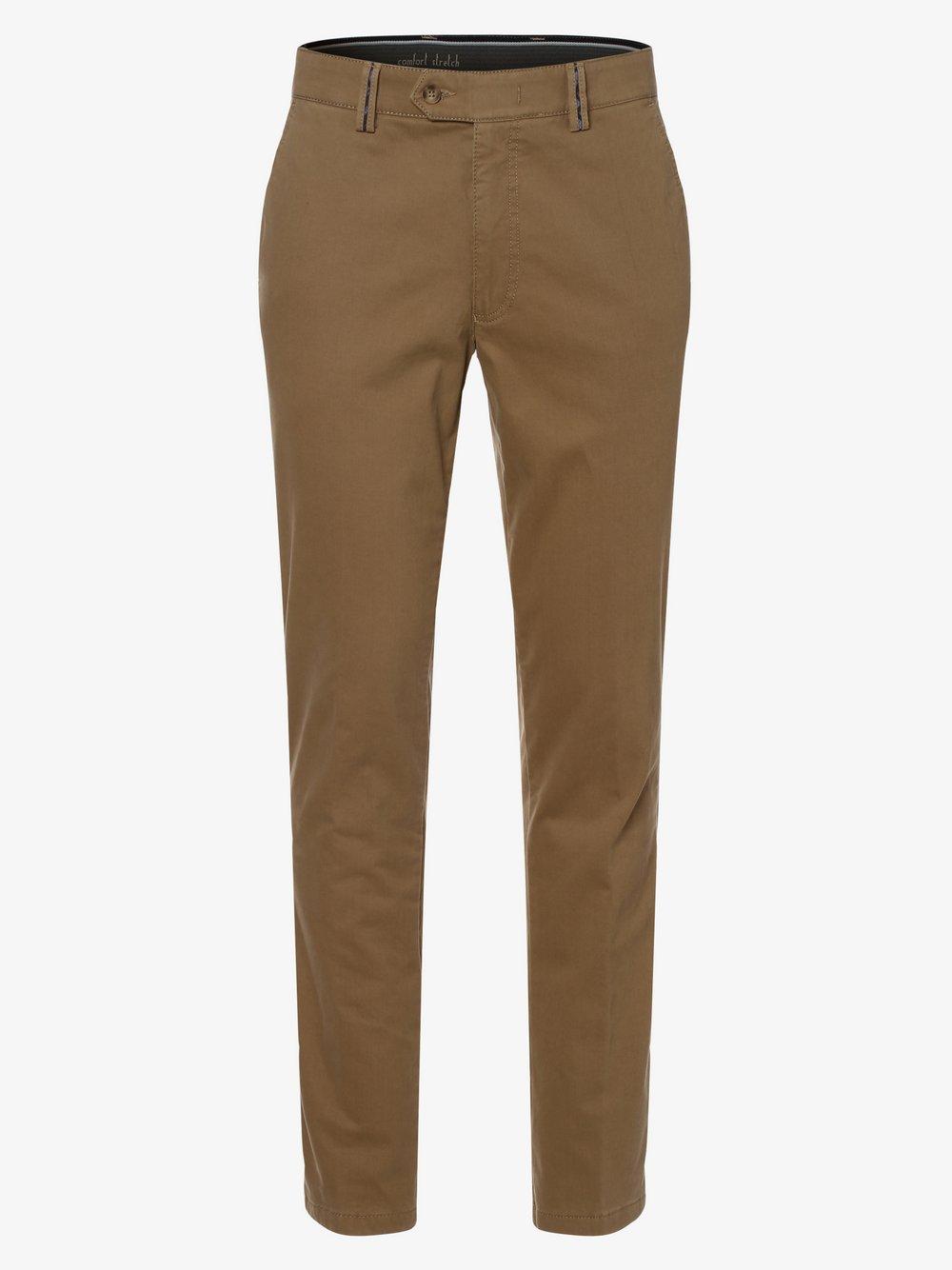 Van Graaf – Spodnie męskie –Brady-40, beżowy Van Graaf 449608-0001