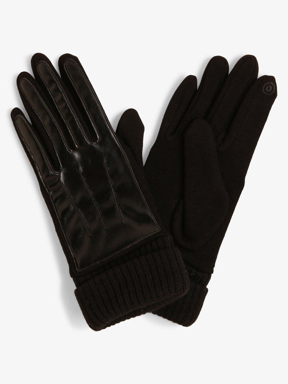 Melkonian – Rękawiczki damskie, czarny Van Graaf 449643-0001-09940
