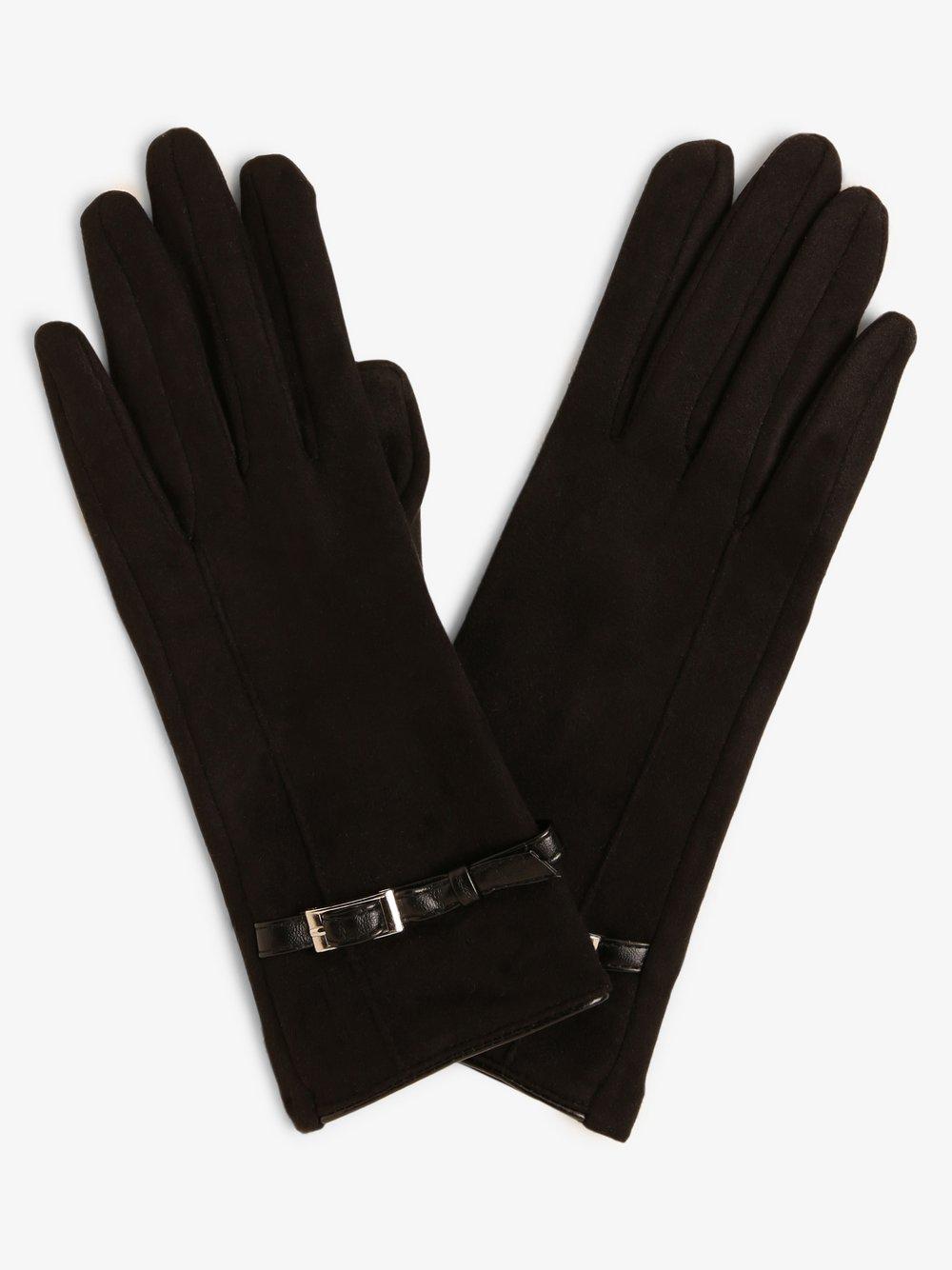 Melkonian – Rękawiczki damskie, czarny Van Graaf 449644-0001