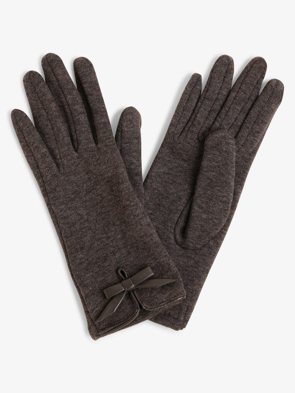 Melkonian – Rękawiczki damskie, szary Van Graaf 449645-0001-09940