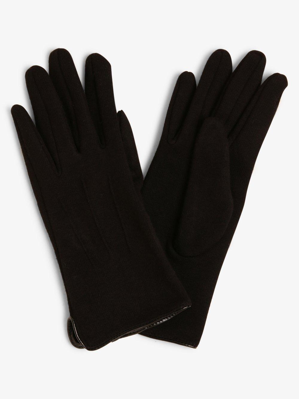 Melkonian – Rękawiczki damskie, czarny Van Graaf 449646-0002-09940