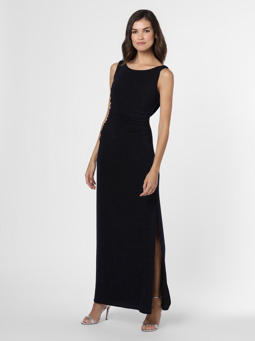 Ambiance – Damska sukienka wieczorowa, niebieski Van Graaf 449992-0004-00380