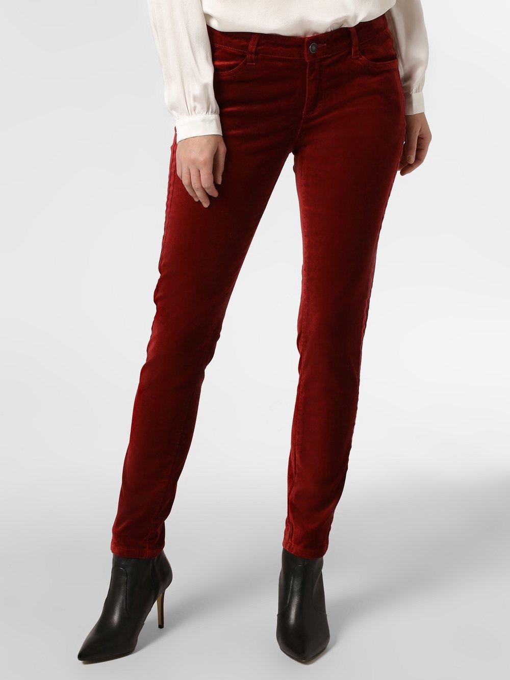 Marie Lund - Spodnie damskie, czerwony