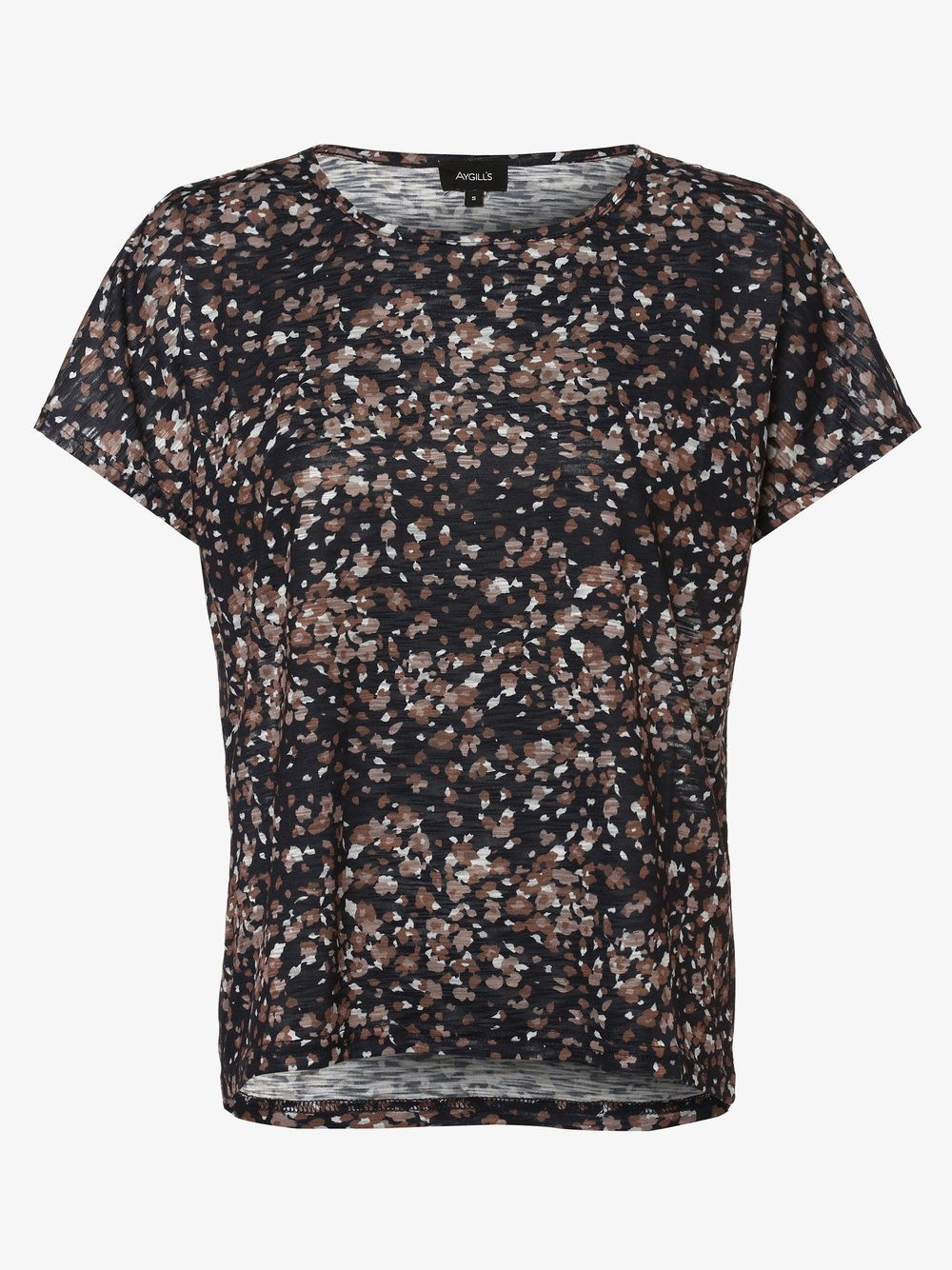 Aygill's - T-shirt damski, beżowy