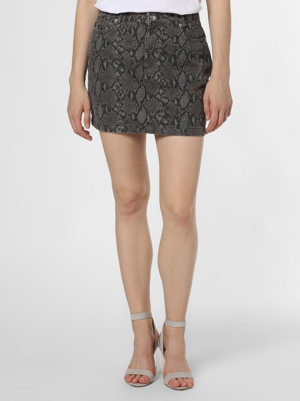 ONLY - Jeansowa spódnica damska – Onlvicky, szary