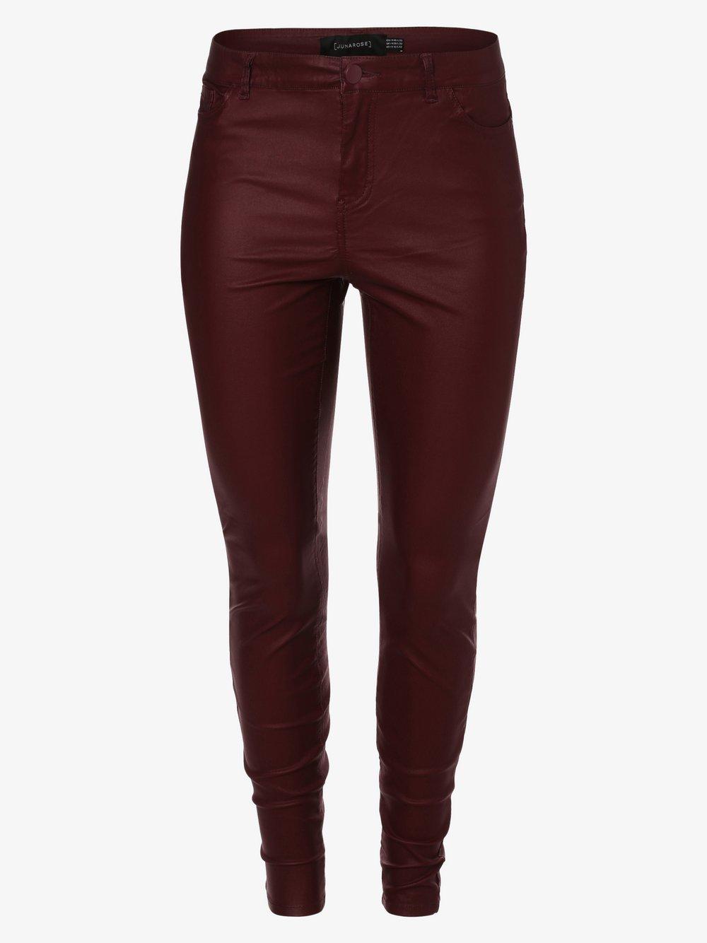 Junarose - Spodnie damskie – Jroris, czerwony