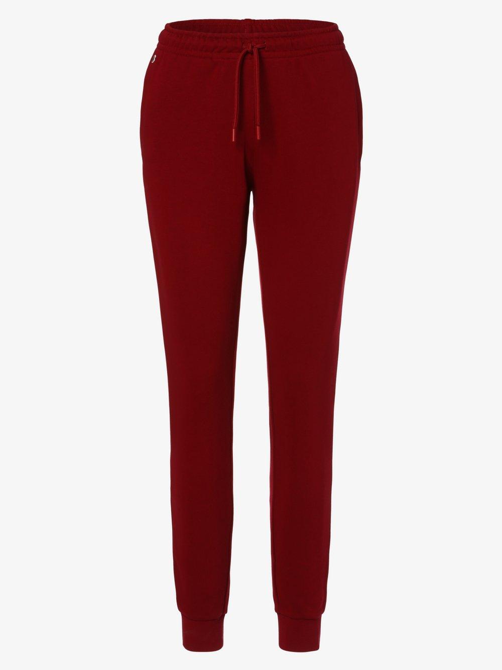 Lacoste - Damskie spodnie dresowe, czerwony