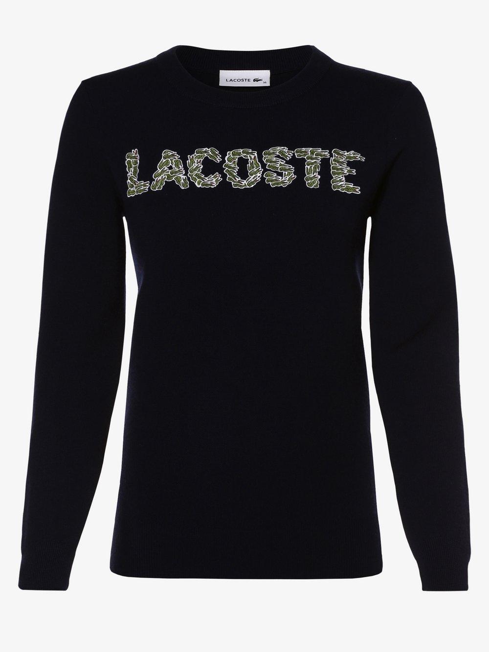 Lacoste - Sweter damski, niebieski