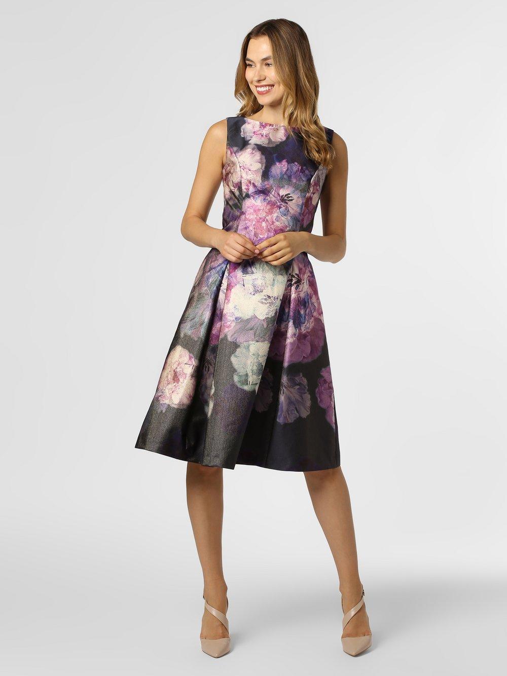 Vera Mont Collection – Sukienka damska, niebieski Van Graaf 451217-0001-00360