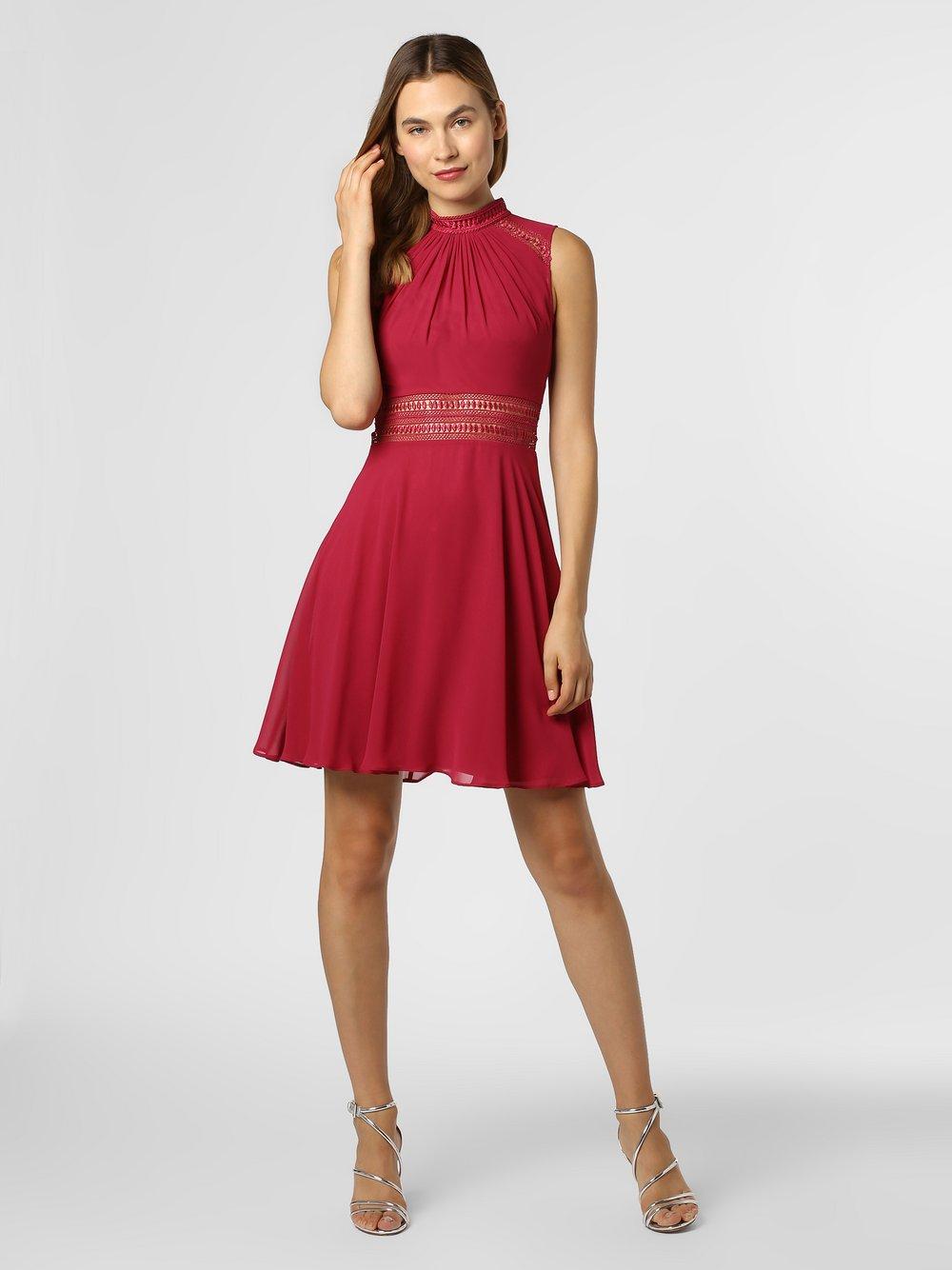 VM – Sukienka damska, czerwony Van Graaf 451231-0001-00380
