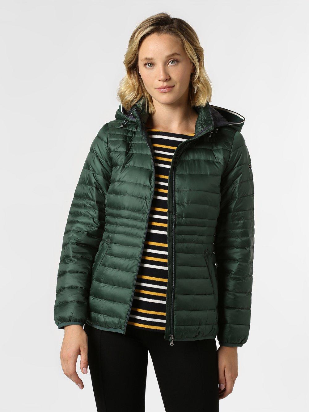 Esprit Casual - Damska kurtka pikowana, zielony