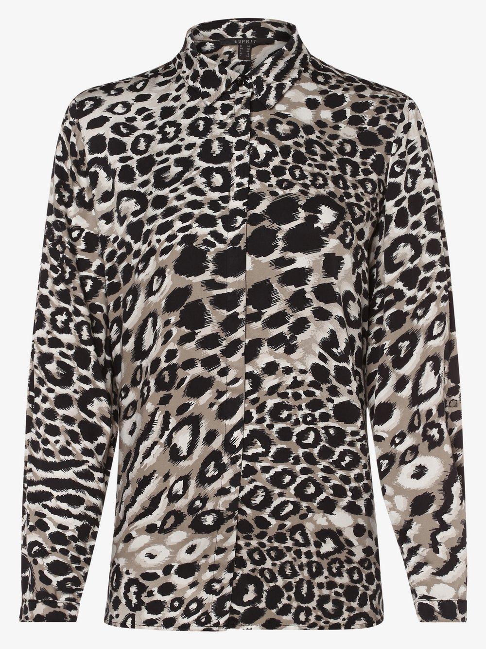Esprit Collection – Bluzka damska, czarny Van Graaf 451633-0001-00360
