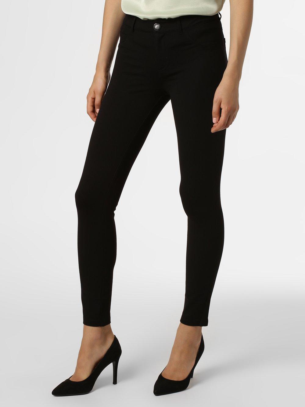 Guess Jeans - Spodnie damskie – Curve X, czarny
