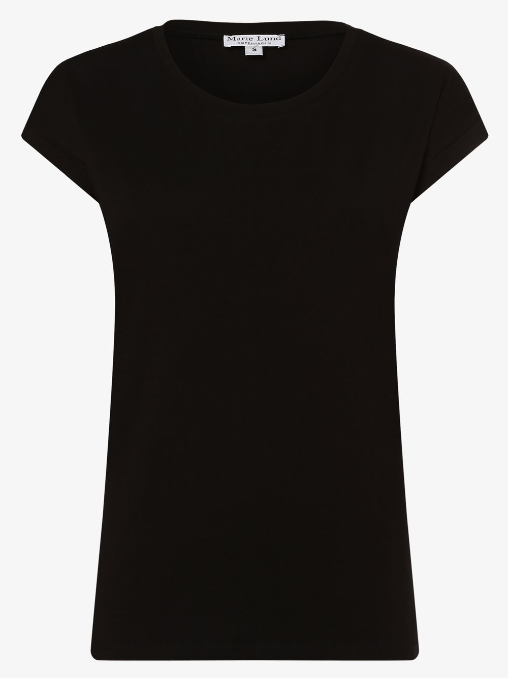 Marie Lund - T-shirt damski, czarny