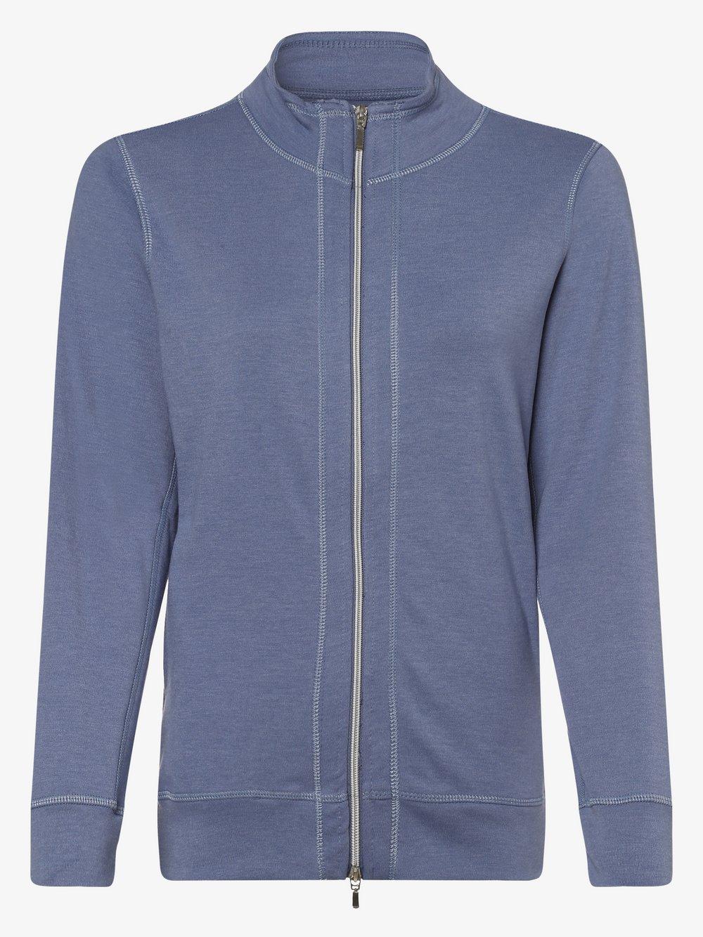 Franco Callegari - Damska bluza rozpinana, niebieski