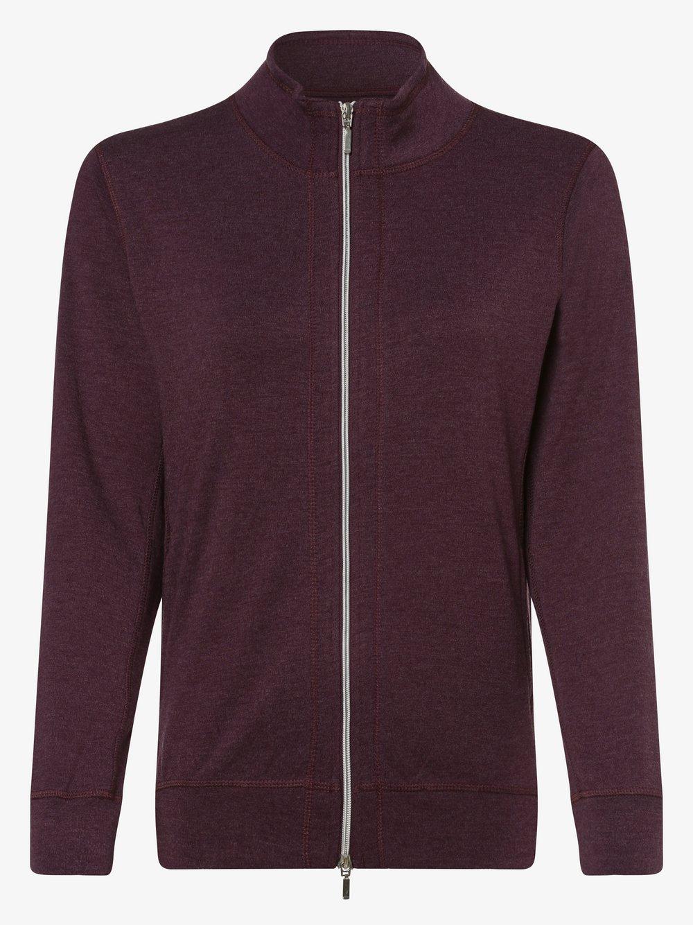 Franco Callegari - Damska bluza rozpinana, czerwony