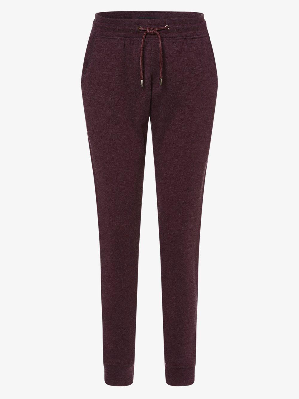 Franco Callegari - Damskie spodnie dresowe, czerwony