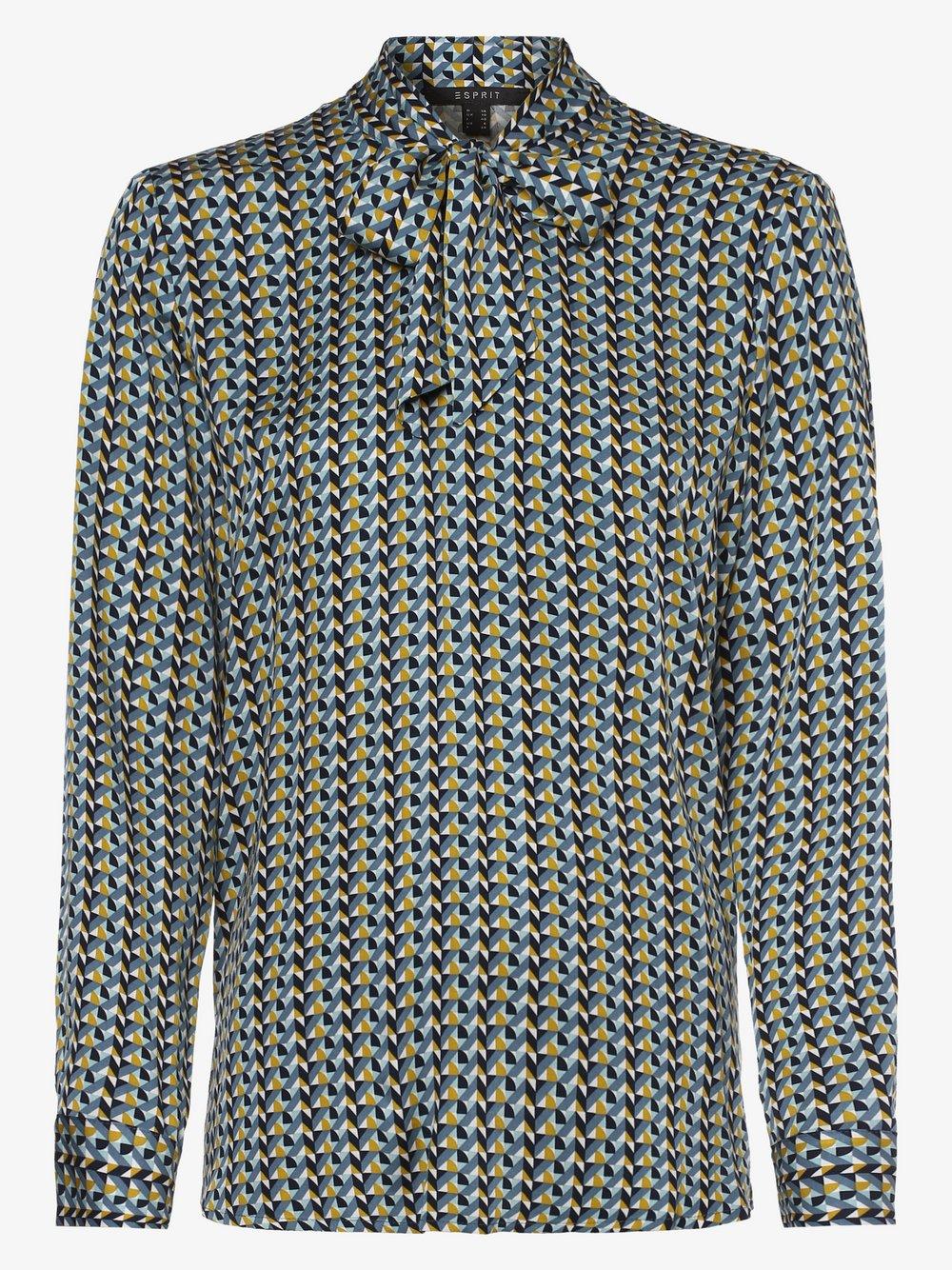 Esprit Collection – Bluzka damska, zielony Van Graaf 452036-0001-00360