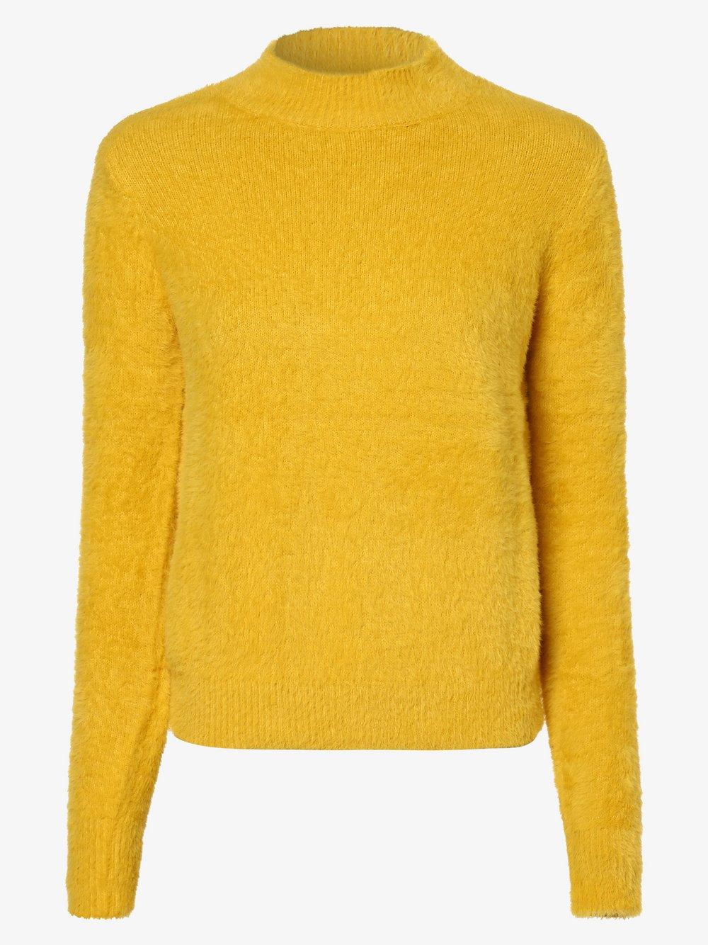 Guess Jeans - Sweter damski, żółty