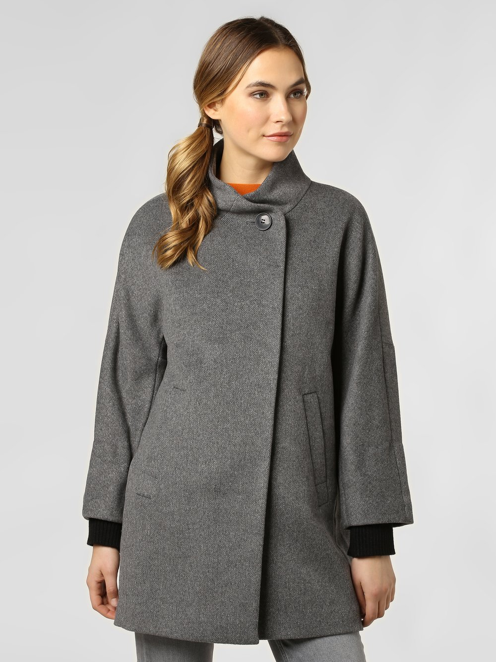 Esprit Collection - Płaszcz damski, szary