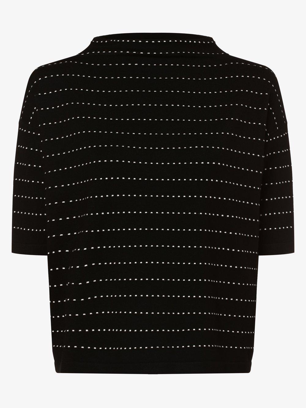 Opus - Sweter damski – Panny, czarny
