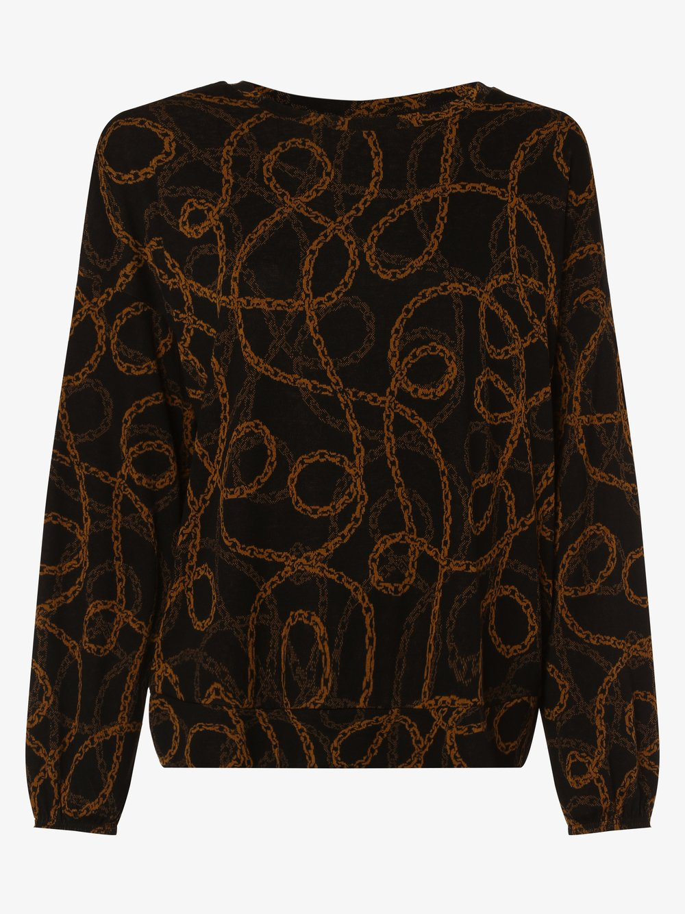 soyaconcept® – Damska bluza nierozpinana – Clarissa, brązowy Van Graaf 452768-0001