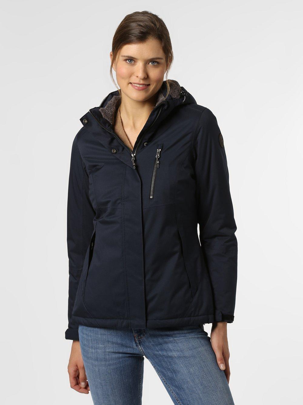 Marie Lund - Damska kurtka funkcyjna, niebieski