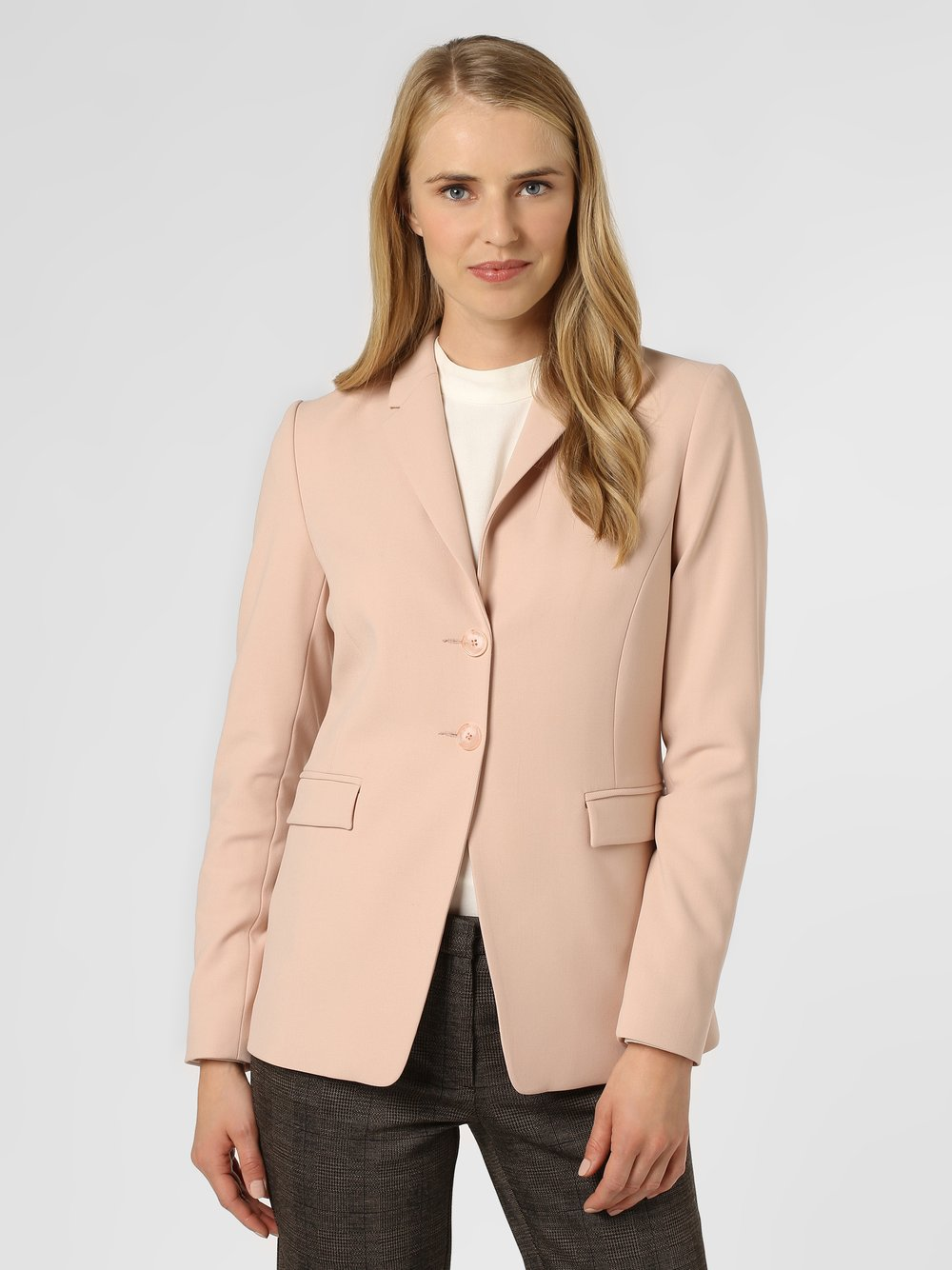 Apriori – Blezer damski, różowy Van Graaf 453187-0001-00440