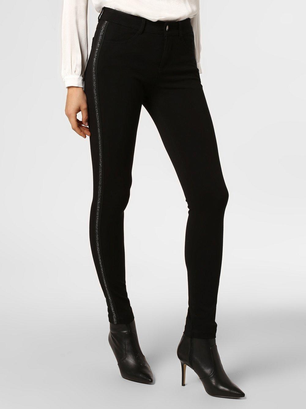 MAC - Spodnie damskie – Cosima, czarny MAC